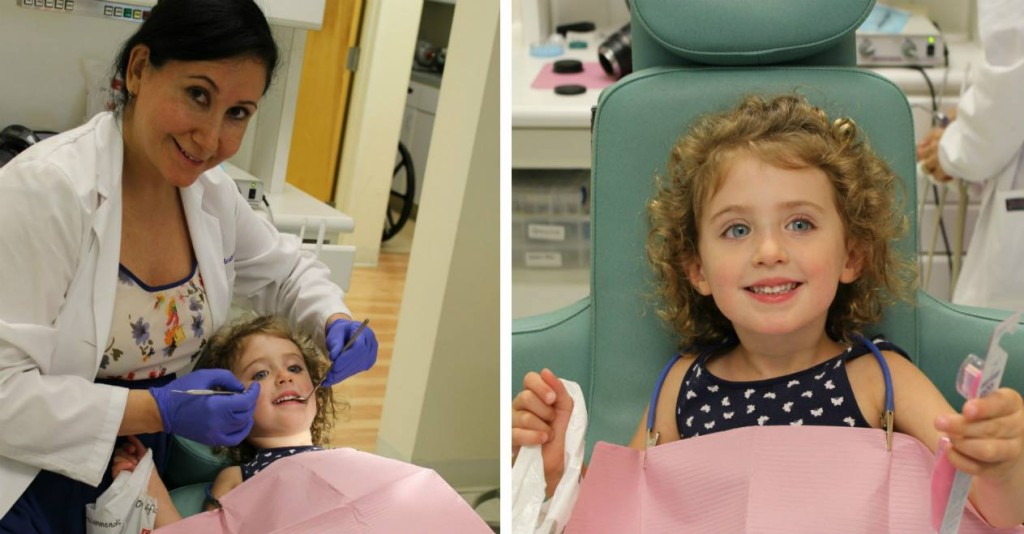 Carla Calcaterra dentist treating kids from Orange, Woodbridge, and West Haven, CT