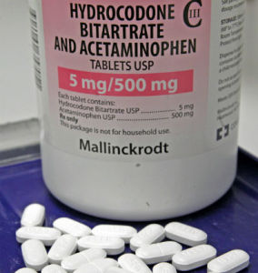 Hydrocodone and acetominophen tylenol combination prescribed at the dentist