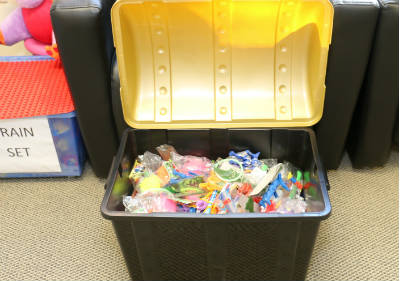 treasure chest at our dental office