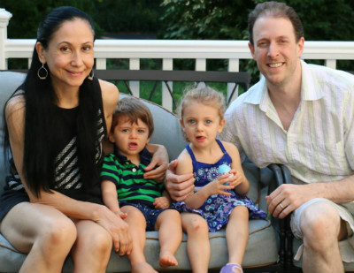 Drs. Nick Calcaterra and Carla Calcaterra with their family