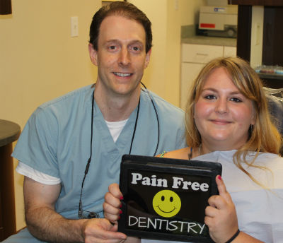 pain free dentist in Orange, CT