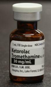 toradal used in dental IV sedation