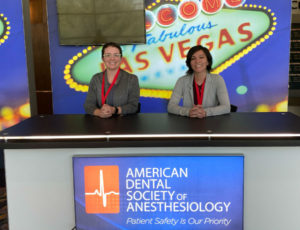 Calcaterra Family Dentistry assistants at Anesthesiology conference