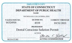 IV Sedation License is required to do sedation dentistry